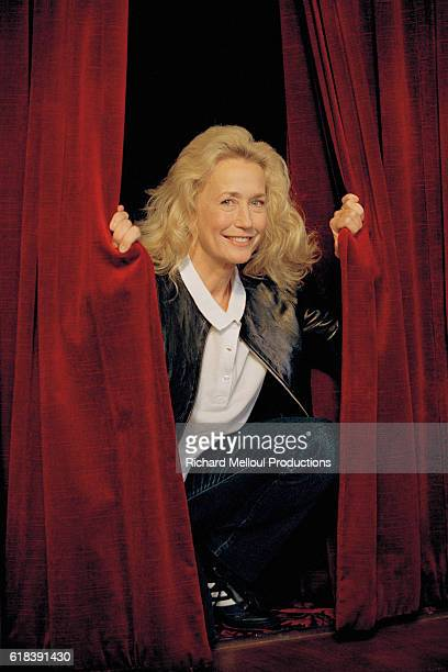 French Actress Brigitte Fossey