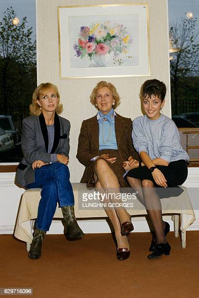 French actress Bulle Ogier, her mother and her granddaughter, French actress Pascale Ogier. French actress Pascale Ogier won the 1984 Venice Film...