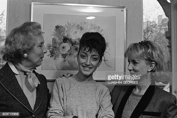 French actress Bulle Ogier's mother, Bulle Ogier and her daughter, French actress Pascale Ogier. French actress Pascale Ogier won the 1984 Venice...