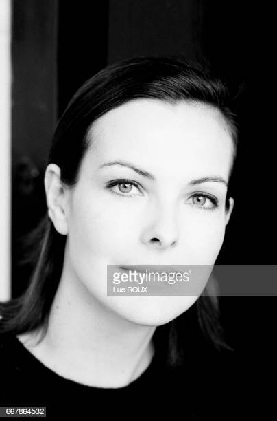 French actress Carole Bouquet