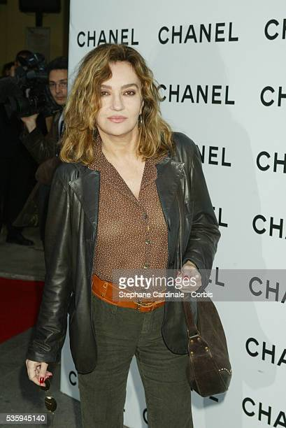 French actress Caroline Cellier arrives at the fourth day of the Paris Film Festival