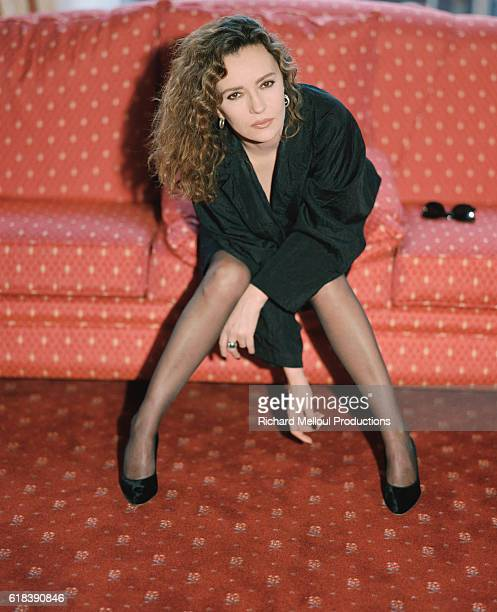 Caroline Cellier Stock Photos and Pictures Getty Images : french actress caroline cellier poses on a sofa in her hotel room at picture id618390846s612x612 from www.gettyimages.com size 497 x 612 jpeg 45kB