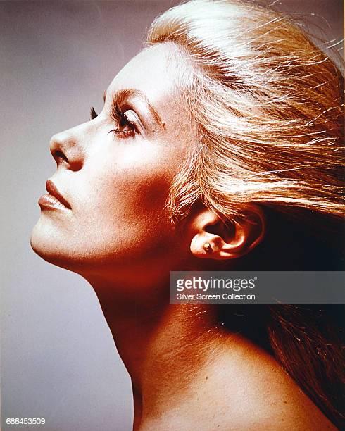 French actress Catherine Deneuve circa 1975