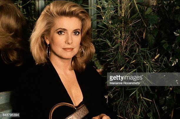 French actress Catherine Deneuve.