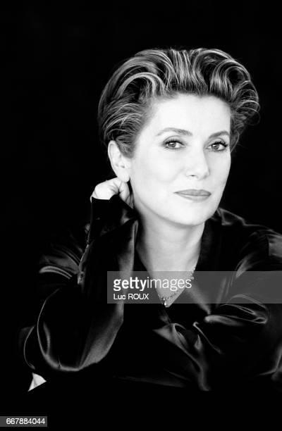 French actress Catherine Deneuve