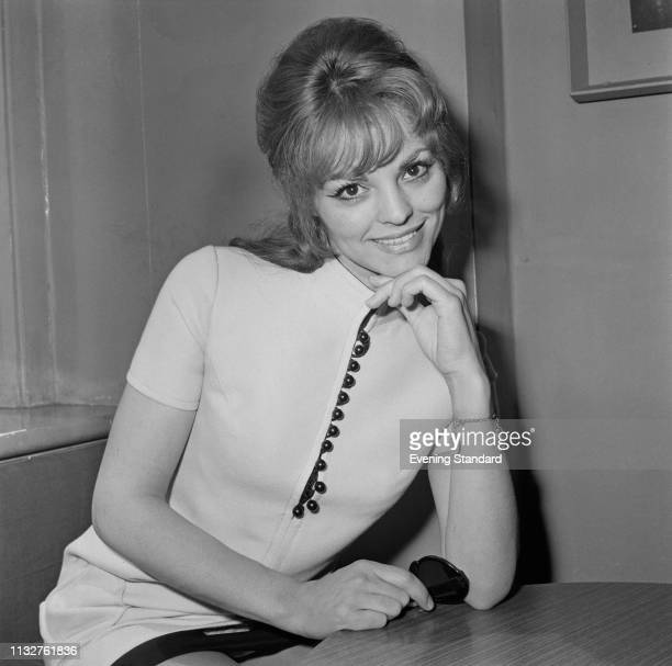 French actress Catherine Rouvel UK 5th May 1969