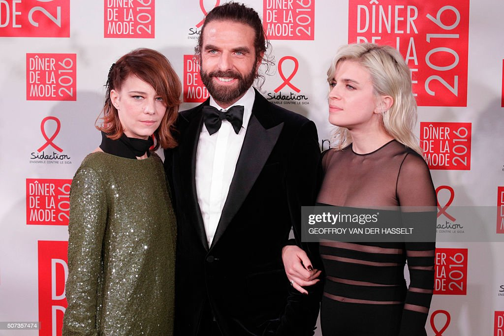 FRANCE-SIDACTION-AIDS-PEOPLE-FASHION : News Photo
