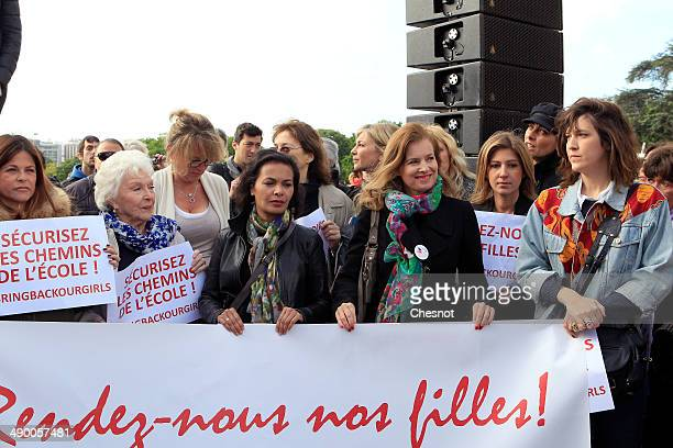 French actress Charlotte Valandrey French singer Line Renaud French actress and author Saida Jawad the daughter of former French president Claude...