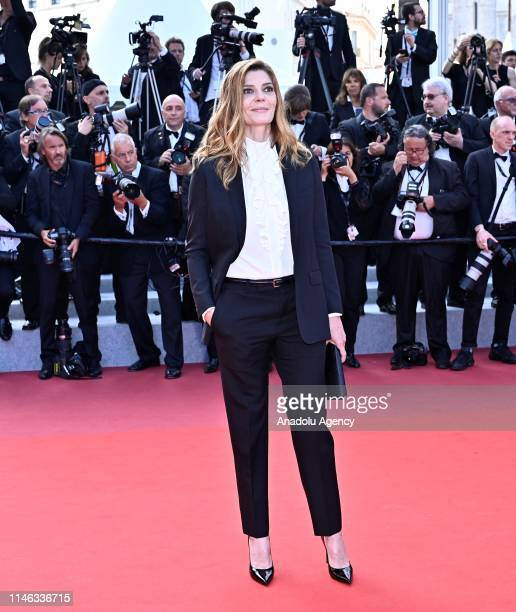 French actress Chiara Mastroianni arrives for the Closing Awards Ceremony of the 72nd annual Cannes Film Festival in Cannes France on May 25 2019