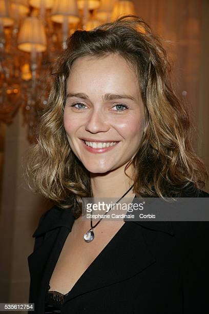 French actress Claire Borotra attends the 20th anniversary party for TV Magazine