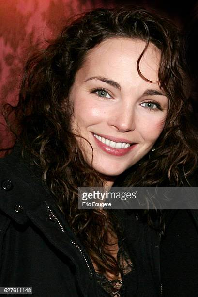 French actress Claire Keim attends the Slav New Year's Day party held at Chez Castel