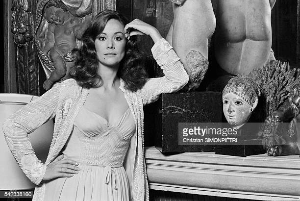 French Actress Claudine Auger at Chanel