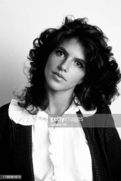 French actress Clio Goldsmith Rome Italy 1984