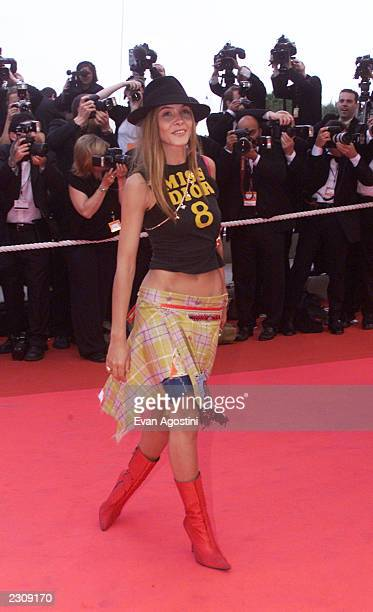 French actress Clotilde Courau at the 'Apocalypse Now Redux' film screening at the 54th Cannes Film Festival in Cannes France Photo by Evan Agostini...