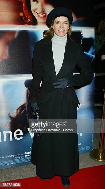 French actress Cyrielle Claire attends the premiere of 'Une Vie à T'Attendre'