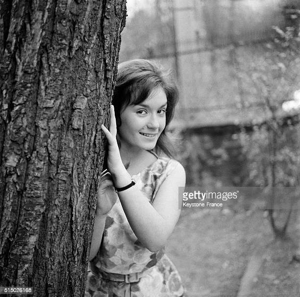 French Actress Danièle Evenou in Paris France on April 3 1962