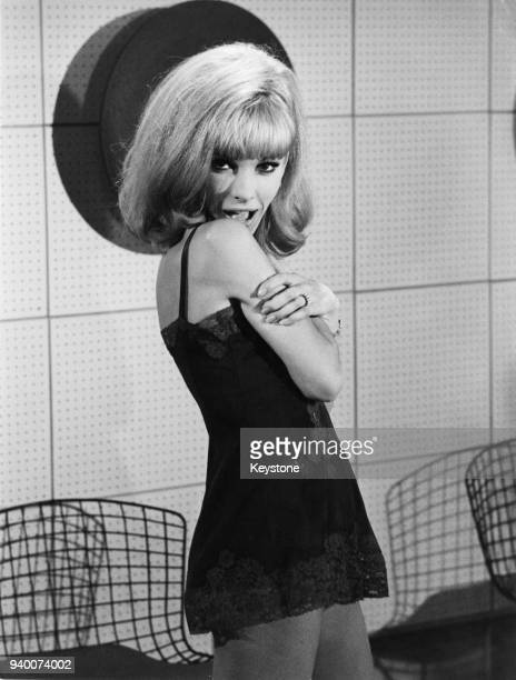 French actress Dany Saval as Corinne in the film 'Cherchez l'idole' France 12th December 1963