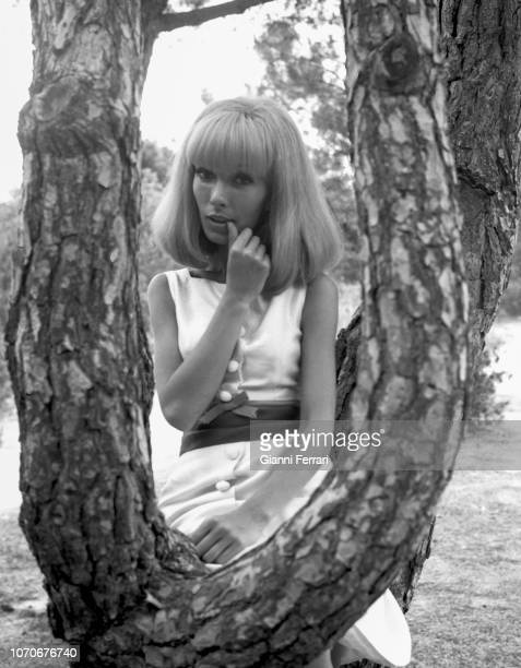 French actress Dany Saval Madrid Spain