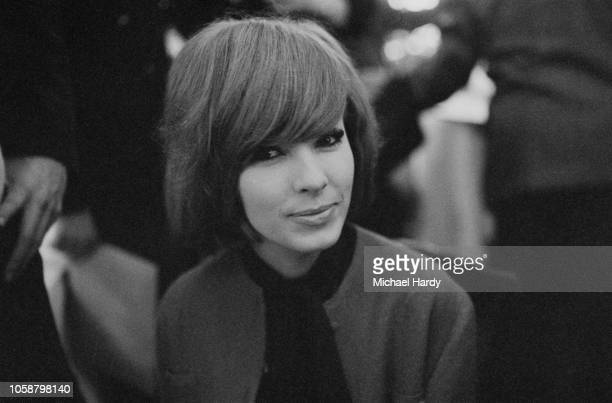 French actress Dany Saval UK 30th March 1961