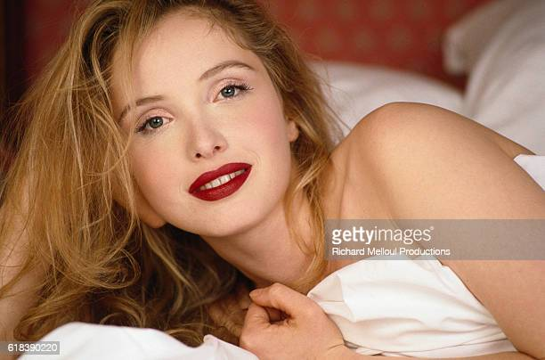 French actress director and screenwriter Julie Delpy