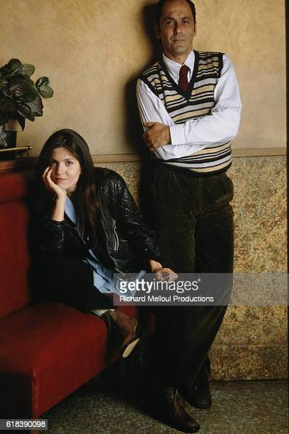 French actress, director and scriptwriter Agnes Jaoui has co-written the play Un Air de Famille with husband and actor Jean-Pierre Bacri.