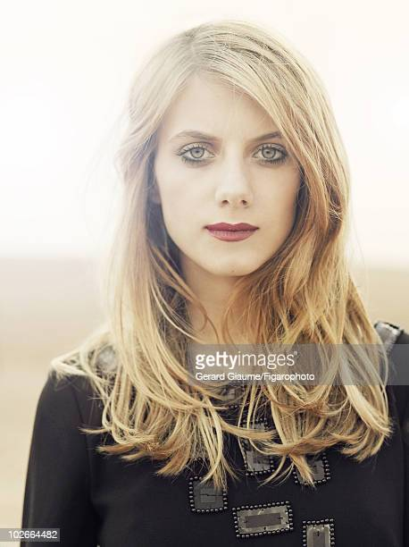French actress director and writer Melanie Laurent is photographed for Madame Figaro Magazine in Morocco in 2007 Published image Image ID 077261011...