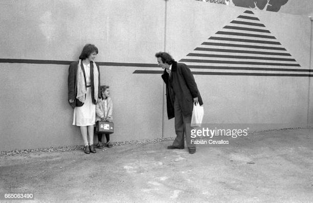 French actress Dominique Laffin and Roberto Benigni star together in the 1979 Italian film Chiedo Asilo The film by director Marco Ferreri and known...