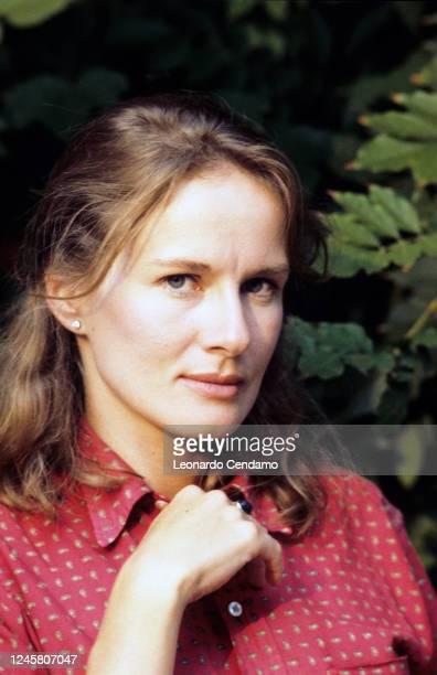 French actress Dominique Sanda, Milan, Italy, 13th February 1984.