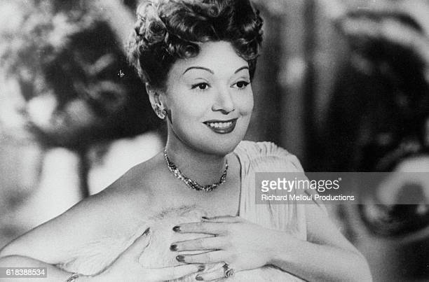 French actress Edwige Feuillere plays the title role in the 1949 French film Julie de Carneilhan The film is directed by French director Jacques...