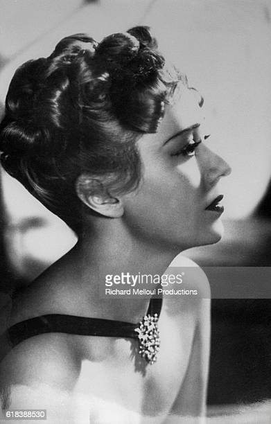 French actress Edwige Feuillere stars in the 1938 French film J'etais une Aventuriere The film is directed by French director Raymond Bernard and...