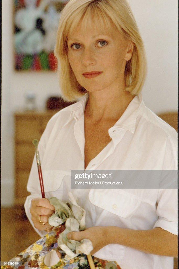 French Actress Elisa Servier : Photo d'actualité