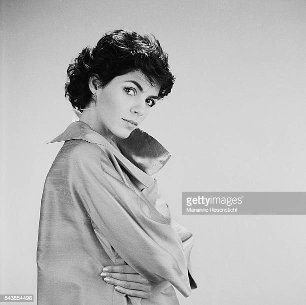 French actress Elisabeth Bourgine.