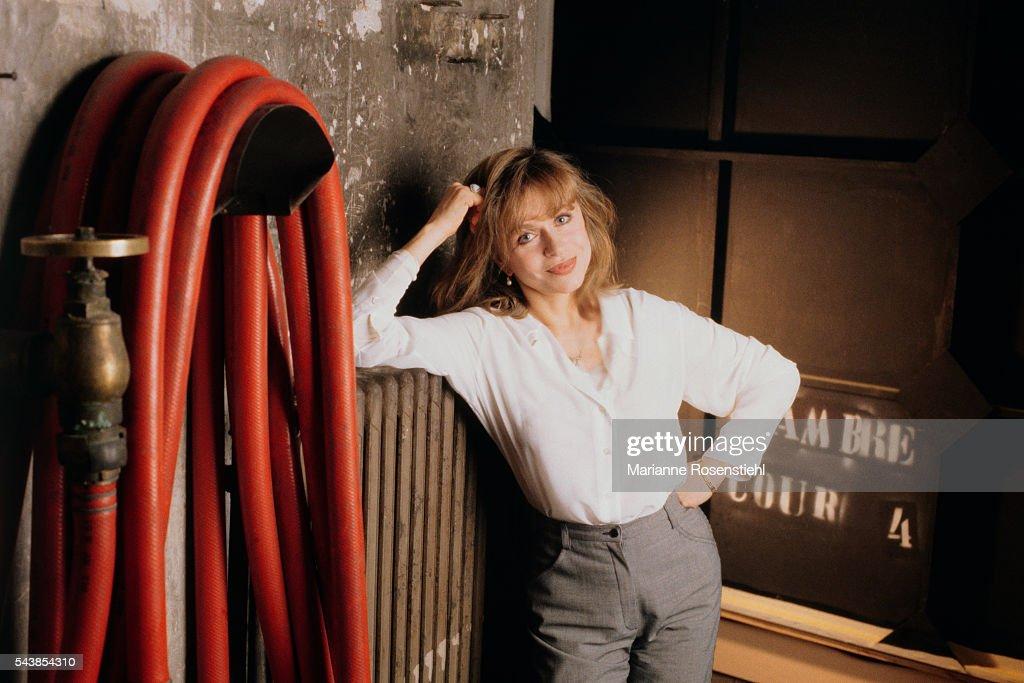 French Actress Elisabeth Depardieu : News Photo
