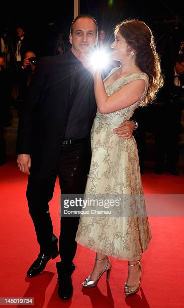 "French actress Emilie Dequenne and partner Michel Ferracci attend ""The Angels' Share"" Premiere during the 65th Annual Cannes Film Festival at Palais..."