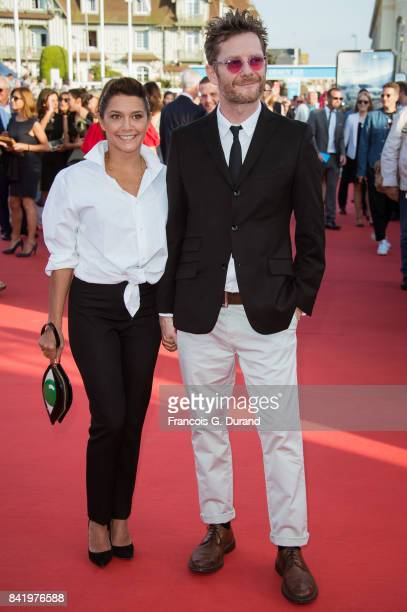 French actress Emma de Caunes and her husband British cartoonist Jamie Hewlett arrive for the screening of the film 'Good Time' during the 43rd...