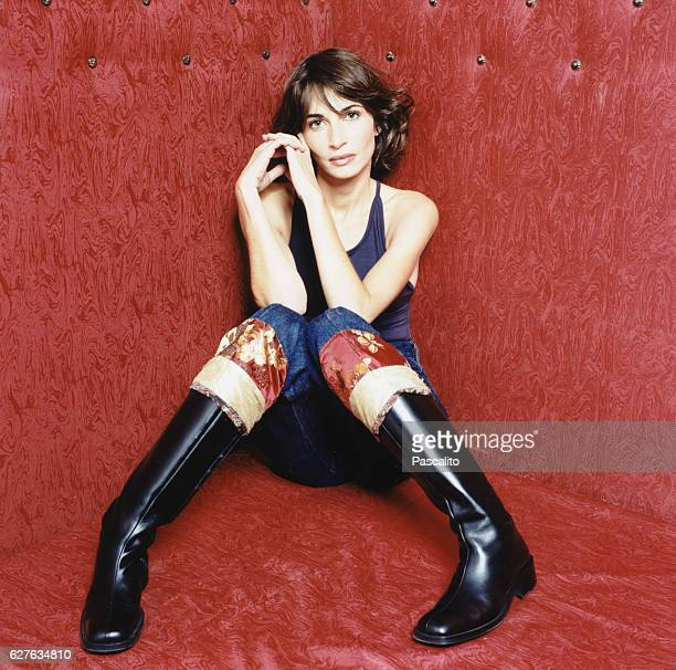 French actress Emmanuelle Bach