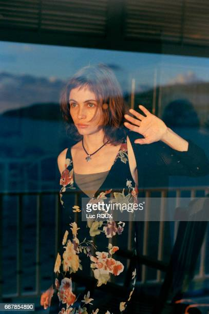 French actress Emmanuelle Beart attends the Acapulco Festival