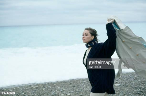French actress Emmanuelle Beart