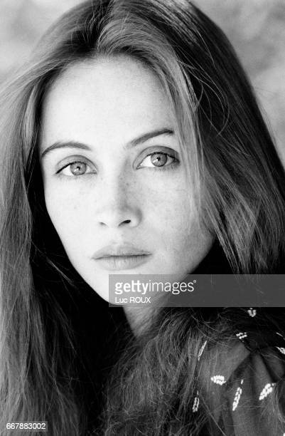French actress Emmanuelle Beart