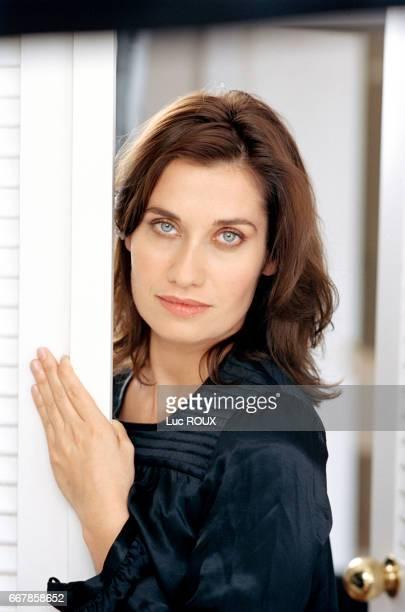 French actress Emmanuelle Devos