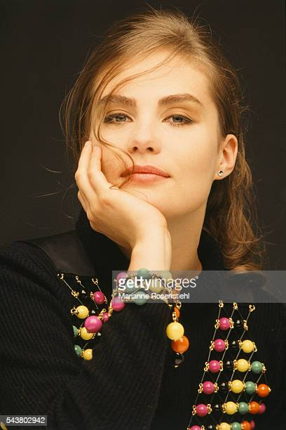 French actress Emmanuelle Seigner