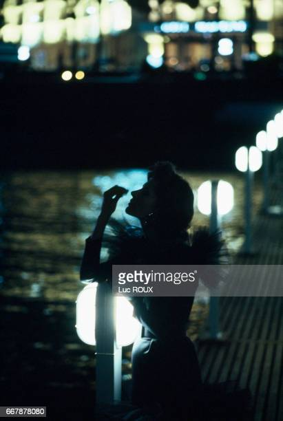French actress Fanny Ardant during the Cannes Film Festival