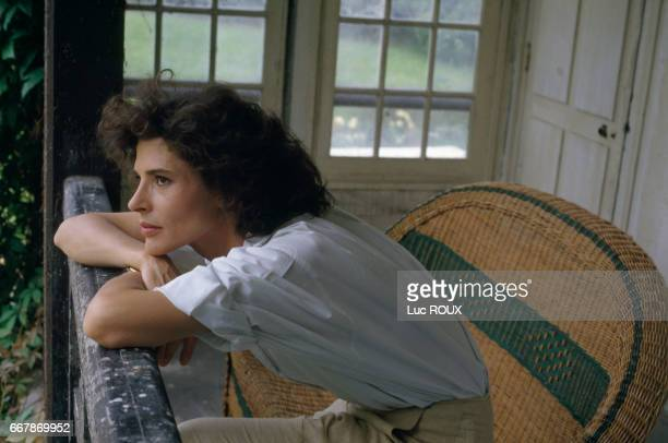 French Actress Fanny Ardant