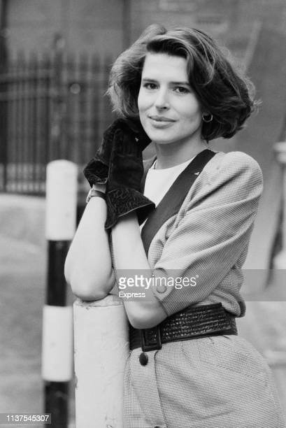 French actress Fanny Ardant UK 17th November 1983