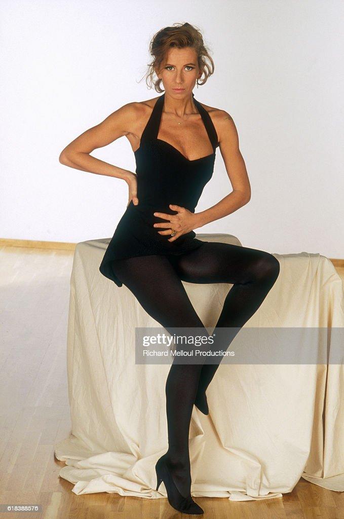 French Actress Fiona Gelin : Photo d'actualité
