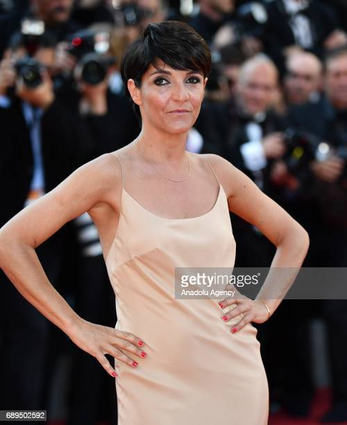 French actress Florence Foresti arrives for the Closing Awards Ceremony of the 70th annual Cannes Film Festival in Cannes France on May 28 2017