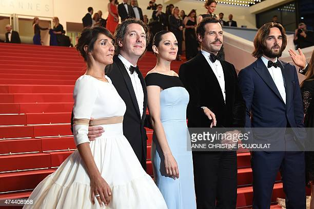 French actress Florence Foresti French actor Guillaume Gallienne French actress Marion Cotillard French actor Laurent Lafitte and French producer...