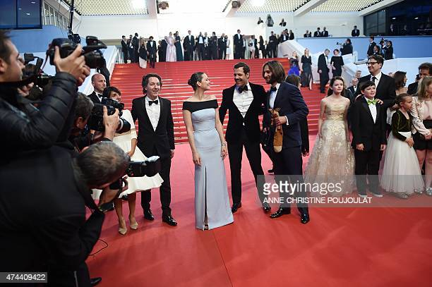 French actress Florence Foresti French actor Guillaume Gallienne French actress Marion Cotillard French actor Laurent Lafitte French producer Dimitri...