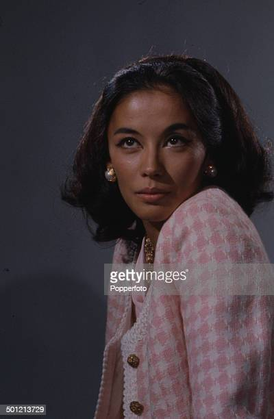 French actress France Nuyen pictured in a scene from the television drama series 'I Spy' in 1967