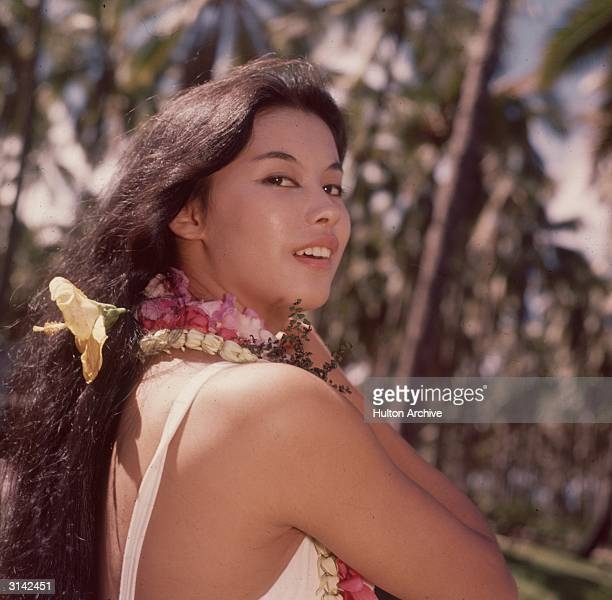 French actress France Nuyen plays lovely local girl Liat in the musical 'South Pacific' directed by Joshua Logan